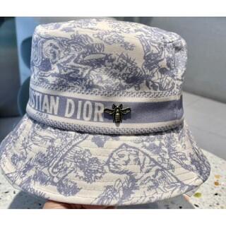 Christian Dior ロゴ バケットハット ブラック  帽子