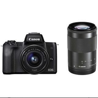 Canon - 【Canon】EOS Kiss Mダブルレンズキット