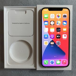 Apple - 訳あり au iPhone12 128GB ホワイト simロック解除 赤ロム