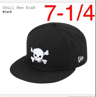 Supreme - Supreme Skull New Era  7-1/4 約57.7cm  黒