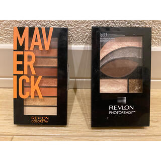REVLON - レブロン カラーステイ ルックスブックパレット 2点セット