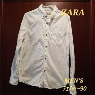 ZARA - 再値下 ZARA シャツ ホワイト