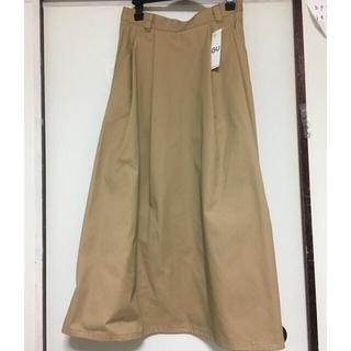 GU - チノフレアロングスカート