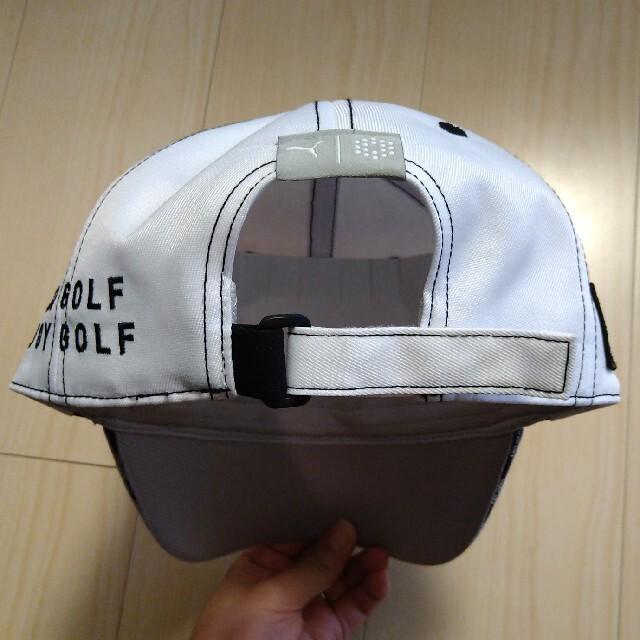 PUMA(プーマ)のプーマ ゴルフ ツアー ラウンド キャップ 新品 白 スポーツ/アウトドアのゴルフ(ウエア)の商品写真