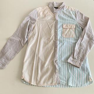 アーバンアウトフィッターズ(Urban Outfitters)のアーバンアウトフィッターズ ♡ ストライプ シャツ レディース メンズ M (シャツ/ブラウス(長袖/七分))