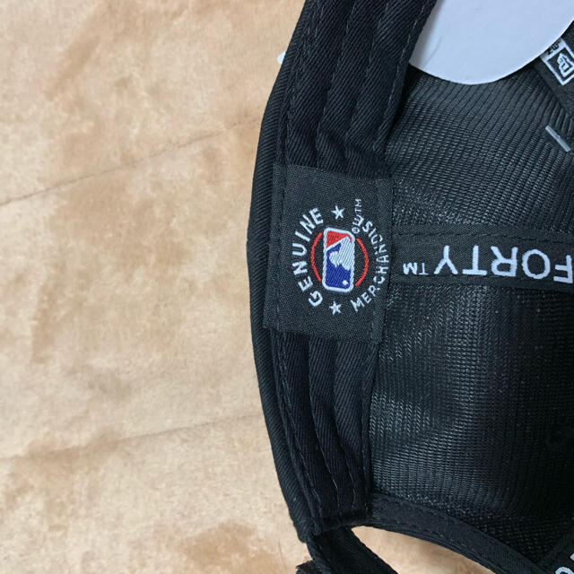 NEW ERA(ニューエラー)のブラック NEWERA ニューエラ 9FORTY ニューヨーク・ヤンキース  メンズの帽子(キャップ)の商品写真