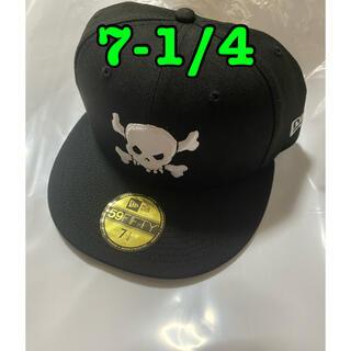 Supreme - supreme Skull New Era®  7 1/4 黒 ニューエラ