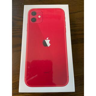 iPhone - 【新品未開封】iPhone11 128GB(PRODUCT)RED SIMフリー