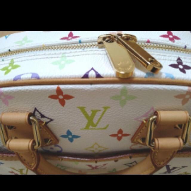 LOUIS VUITTON(ルイヴィトン)の【新品】ルイヴィトン マルチカラー ホワイト トュルーヴィル お祝い プレゼント レディースのバッグ(ハンドバッグ)の商品写真