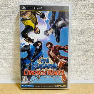 カプコン(CAPCOM)の戦国BASARA クロニクルヒーローズ - PSP カプコン(携帯用ゲームソフト)