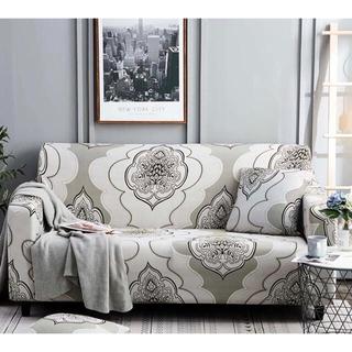 ソファーカバー 3人掛け お部屋を瞬時にイメチェン 北欧風デザイン 伸縮素材(ソファカバー)