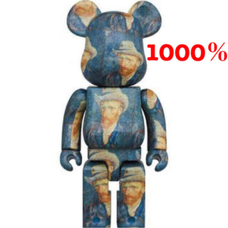 メディコムトイ(MEDICOM TOY)のBE@RBRICK Van Gogh Museum ベアブリック 1000%(キャラクターグッズ)
