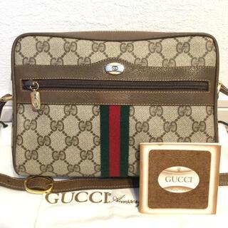 Gucci - ほぼ未使用品♡極美品 希少紙タグ付き オールドGUCCIグッチ ショルダーバッグ