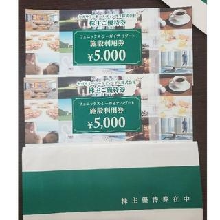 セガサミー株主優待券 1万円分シーガイア・リゾート mata55a様専用(その他)