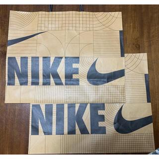 NIKE - ナイキ ショップ袋 紙袋 プレゼント用  スニーカーサイズ 2枚セット