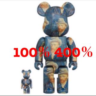 メディコムトイ(MEDICOM TOY)のBE@RBRICK Van Gogh Museum 100% 400% (キャラクターグッズ)