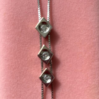 JEWELRY TSUTSUMI - K14WG ダイヤモンドネックレス