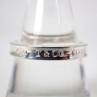 Tiffany & Co. - ティファニー SV925 1837 ナロー リング 18.5号[g445-10]