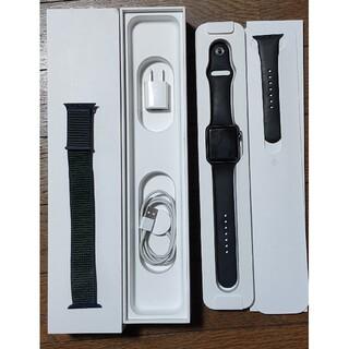 Apple - 値下げアップルウオッチ シリーズ2  42mm 黒アルミ