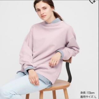 UNIQLO - ユニクロユー ワイドフィットスウェットシャツ