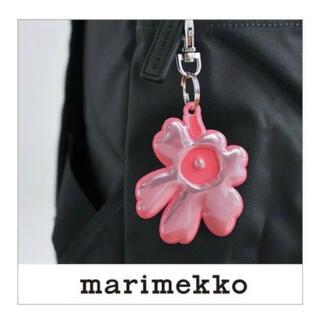 marimekko - マリメッコ リフレクター ピンク