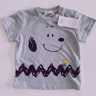 SNOOPY - 【新品タグ付き】スヌーピー  半袖 Tシャツ 80