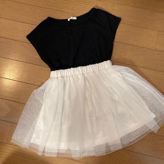 GU - 神戸レタス チュールスカート tシャツ セット