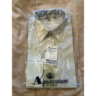 アクアスキュータム(AQUA SCUTUM)のアクアスキュータム✨✨✨長袖ワイシャツ ドレスシャツ(シャツ)