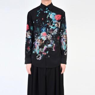 LAD MUSICIAN - LAD MUSICIAN 2019SS 花柄スタンダードシャツ 44
