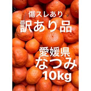 愛媛県 なつみ 傷スレ浮皮あり 10kg(フルーツ)