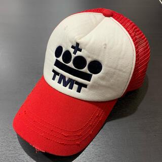 TMT - 2回 完売モデル TMT ティーエムティ メッシュ キャップ フリー レッド