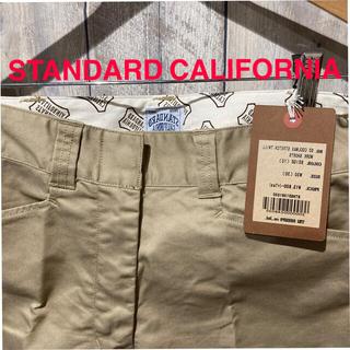 スタンダードカリフォルニア(STANDARD CALIFORNIA)の新品 タグ付きSTANDARD CALIFORNA ワークショーツ(ショートパンツ)