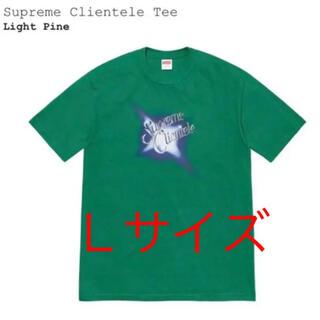 シュプリーム(Supreme)のsupreme clientele tee Tシャツ 緑 L定価以下(Tシャツ/カットソー(半袖/袖なし))