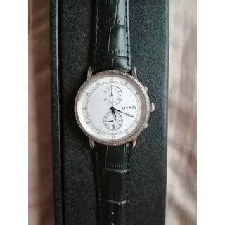 アラミス(Aramis)のアラミス 腕時計 クロノグラフウォッチ 値下げしました(レザーベルト)