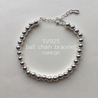 SV925ball chain bracelet plage ロンハーマン ザラ