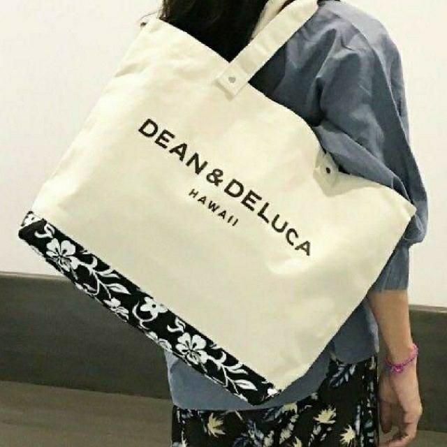 DEAN & DELUCA(ディーンアンドデルーカ)の新品★DEAN&DELUCA キャンバストートバックハワイ レディースのバッグ(トートバッグ)の商品写真