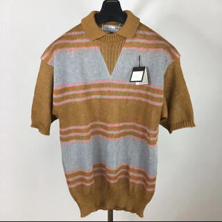 クリスチャンディオール(Christian Dior)の新品 dior クリスチャンディオール メンズ 麻 リネン 日本製 ポロシャツ(ポロシャツ)