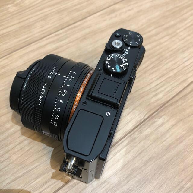 SONY(ソニー)のフルサイズコンデジ DSC-RX1 スマホ/家電/カメラのカメラ(コンパクトデジタルカメラ)の商品写真