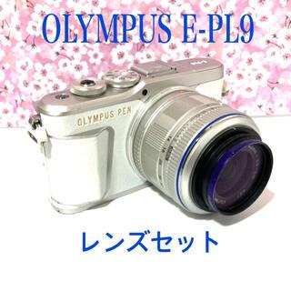 OLYMPUS - OLYMPUS オリンパス PEN E-PL9  レンズセット ホワイト