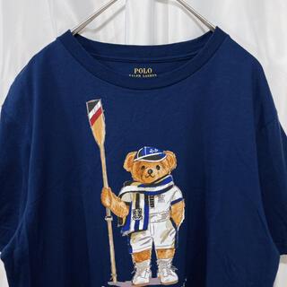 Ralph Lauren - ラルフローレン ポロベア 美品 Tシャツ レディース ネイビー ポロラルフ