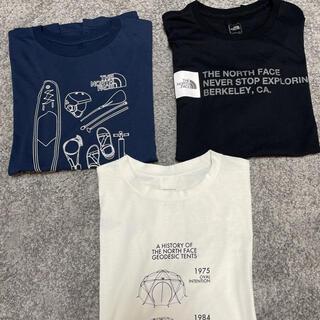 THE NORTH FACE - ノースフェイス メンズTシャツ 三枚セット L