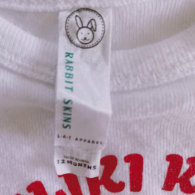 SNOOPY(スヌーピー)の☆ハワイ限定☆ 日焼けスヌーピー  ロンパース 肌着12MONTHS  80 キッズ/ベビー/マタニティのベビー服(~85cm)(ロンパース)の商品写真