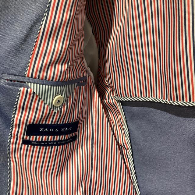 ZARA(ザラ)のZARA サマー スーツセットアップ  メンズのスーツ(セットアップ)の商品写真