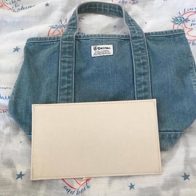 ORCIVAL(オーシバル)のオーシバル デニムトート レディースのバッグ(トートバッグ)の商品写真