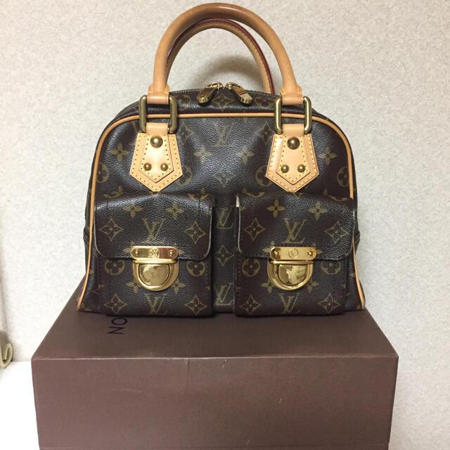 LOUIS VUITTON(ルイヴィトン)のルイヴィトン モノグラム バッグ マンハッタン レディースのバッグ(ハンドバッグ)の商品写真