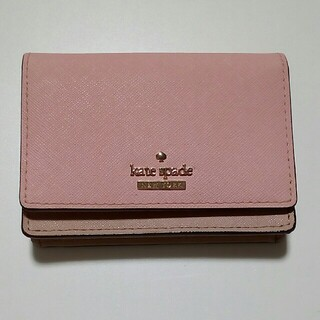 kate spade new york - kate spade パスケース 定期入れ ミニ財布 カードケース 名刺入れ
