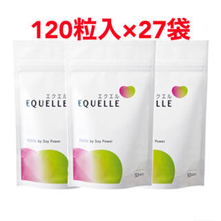 大塚製薬 - エクエル 120粒 30日分×27袋 ☆新品未開封