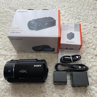 ソニー(SONY)の新品級!SONY FDR-AX45(ビデオカメラ)