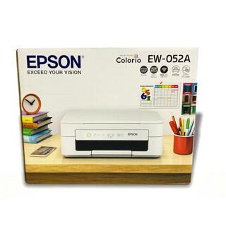 エプソン(EPSON)のエプソン プリンター インクジェット複合機 カラリオ EW-052A (PC周辺機器)