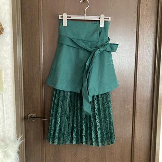 ラグナムーン(LagunaMoon)のラグナムーン レーススカート(ひざ丈スカート)